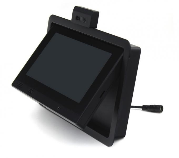 Taxi Back Seat Advertising Headrest Monitor with 3G / WIFI / Body Sensor