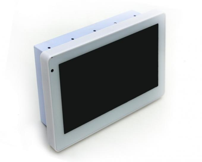 Meeting Room Booking 7 Inch Android POE Touch Panel With RGB LED Light
