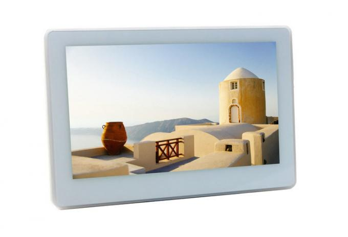 "7"" Home Automation Wall Mount Tablet PC With POE Inwall Mount Bracket Iridium Certified"