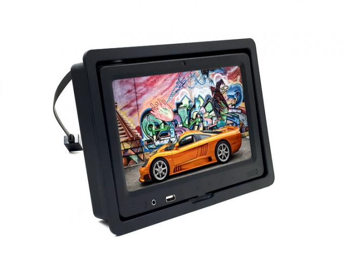 9 Inch Android Taxi Advertising Display With Headrest