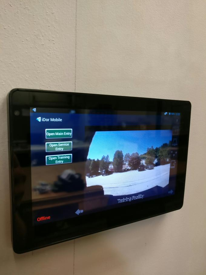 Android Wall Mounted Tablet With SIP Protocol For Intercom