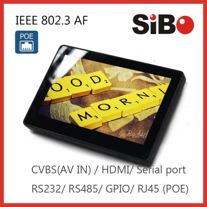 "7"" Tablet with POE GPIO ports, RS485 for Automation Application"