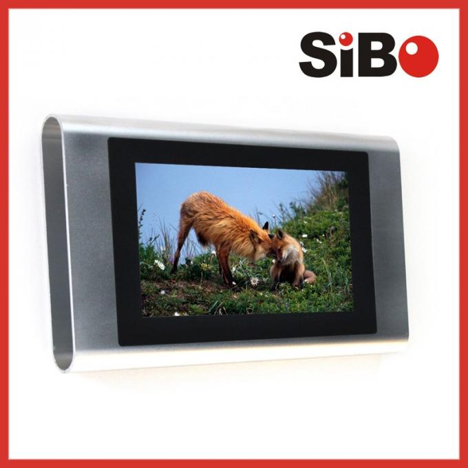 7 inch Aluminium Enclosure wall mounted Android 4.2 system tablet for Automation Control with POE Wifi RAM 1GB ROM 8GB