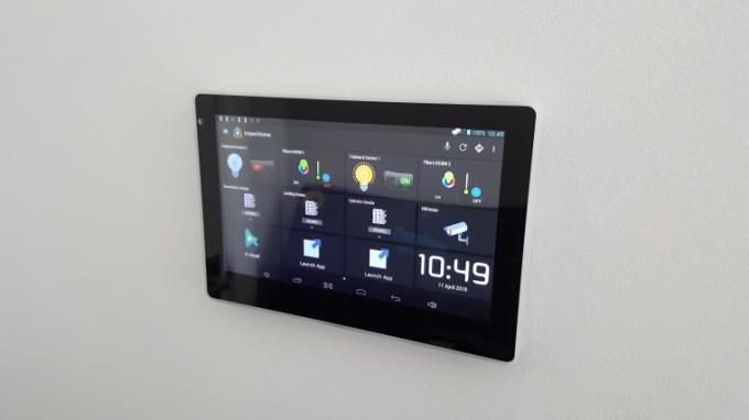 SIBO Android Wall Mounted Touch POE Tablet With Octa Core SIP Intercom For Home Automation