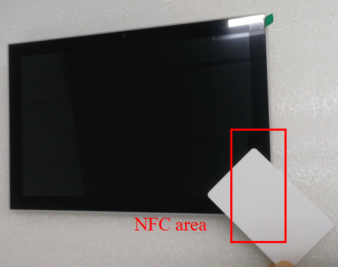POE Android Touch Wall Mount Tablet With Octa Core NFC Reader For Digital Signage