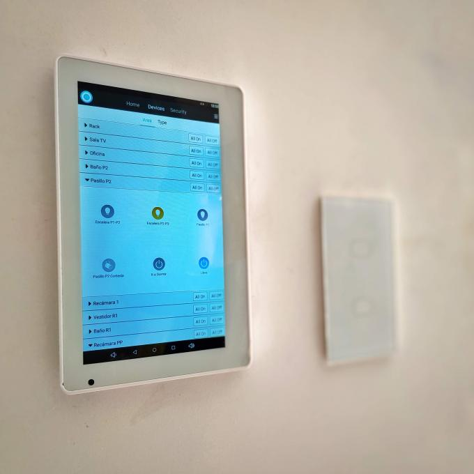 Inwall Mount Tablet POE Touch Screen For Smart Home Controller