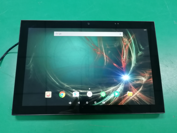 10 Inch Indusrial Android POE Wall Mounted RS232 RS485 Tablet With IPS Touch Screen