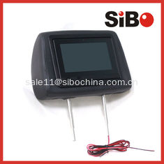 China Taxi Cab Geo Location Dependent Advertising Headrest Screen With Advertising Software and CMS Platform supplier