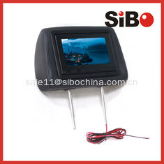 China Taxi Back Seat Advertising Headrest Monitor with 3G / WIFI / Body Sensor supplier