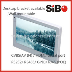 China In Wall Mounted Android Tablet PC With POE For Smart Home Control supplier