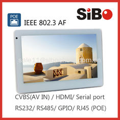 China SIBO Android POE LCD With RS232 / RS485 supplier
