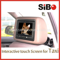 China Taxi Touch Advertising Screen with CMS supplier
