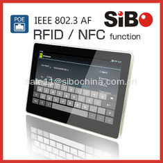 China RFID NFC Wall Tablet POE Panel PC With Demo APP And Source Code supplier