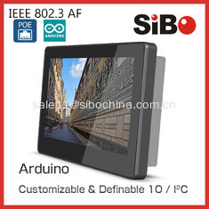 China SIBO 7 Inch Tablet Q896 With Glass Wall Mount Bracket LED Light For Meeting Room Ordering supplier