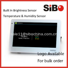 China SIBO 7 inch In Wall Android Tablet With RS232 RS485 GPIO NFC reader Camera supplier