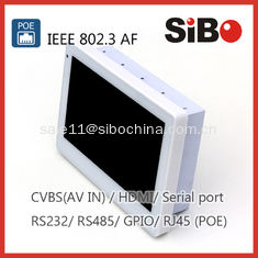 "China 7"" White In Wall Mounted Tablet PC With Wall Bracket, POE For Home Automation supplier"