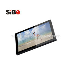 China 10 inch Android tablet Q8919 with POE,LED bar, NFC and wall mount bracket supplier