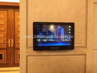 China Wall mounting touch screen tablet pc with POE and RS485 for smart building automation supplier