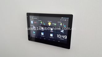 China RS232 RS485 Android POE powered  tablet pc with Temperature sensor for heating and cooling system supplier