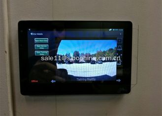 China Android 6.0 touch panel tablet pc with RS485 and POE for Information management supplier