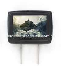 China Tablet Cab Headrest With Taxi Advertising Application supplier
