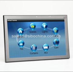 "China 10"" Meeting Room Tablet With POE, LED Light Bar On Both Sides, POE, Glass Wall Mount supplier"
