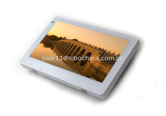 China White 7 Inch Android Tablet With Arduino nano, WIFI,NFC Reader, POE,Mounting Brackets supplier