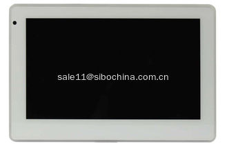 China White Touch Panels With L shape on wall and in wall brackets supplier