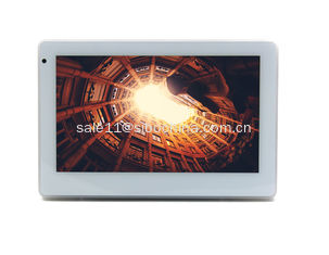 China In Wall Flush Mount POE 7 Inch Android Tablet For Meeting Room Display supplier