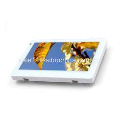 China 7 Inch White Android Tablet With GPIO Input and Output Ports supplier