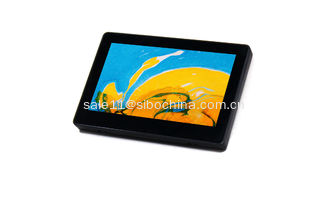 China SIBO 7 inch Android 6.0 rooted tablets wall mountable with wifi, bluetooth, POE, LED bar on top, google play store supplier