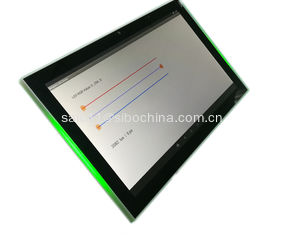 "China Commercial Grade 10"" Android Panel PC Tablet With LED Light And NFC Reader supplier"