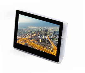 China Wall Mount Touch Screen Monitor With POE LED Light Bar For Status Indication supplier