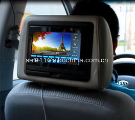 China 7 Inch Backrest Embedded Players For Taxi Display System supplier