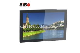 China SIBO 10.1 Inch POE Android 6.0 Tablet With 3 Color LED Light Bar Wall/Glass Mount For Meeting Room supplier