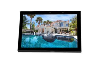 "China 10"" IPS In Wall Flush Mount Home Automation POE Android Tablet With SIP Intercom supplier"