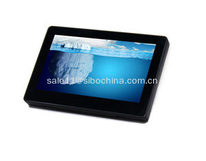 China 7'' Flush POE Android Touch Wall Mounted Tablet With NFC Reader LED Light For Office supplier