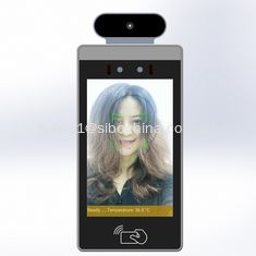 China POE Android 8 Inch Monitor With Body Temperature Test And Face Recognition For Access Control supplier