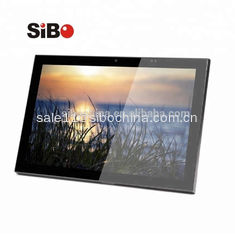 China Sibo Wall Mounted Touch Poe 10'' Octa Core Tablet With GPIO LED Light For Room Reservation supplier