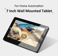 China 7 Inch Wall Mounted Poe Android Tablet With POE Power And Rooted Android OS supplier