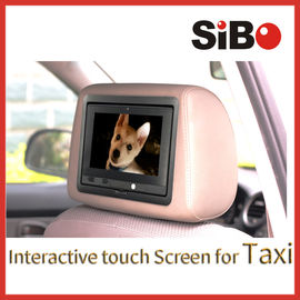 China Taxi Touch Advertising Screen with Content Management System factory