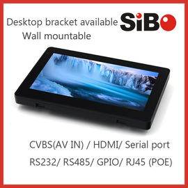 China Newest Wall Mount Android 4.4 Tablet With RS232, RS485, POE For Smart Home Automation factory