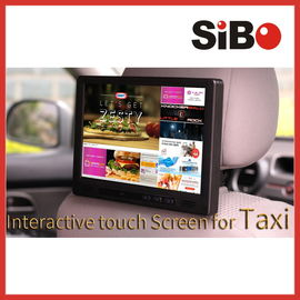 China SIBO 10.1 Inch Android Touch Screen With Advertising Software For Taxi Publicity In Cabs factory