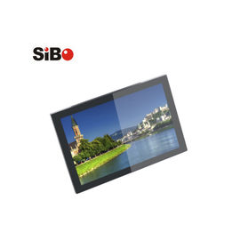 China Wall mounting tablet pc LCD panel with big speaker tunnel for building intercom factory