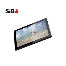 China 10 inch Android tablet Q8919 with POE,LED bar, NFC and wall mount bracket factory