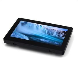 Glass wall mounted IPS display screen tablet pc with RS485 POE  Light bar for smart office system