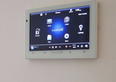 China Touch monitor tablet pc with POE and wall mounting for A/V entertainment system factory
