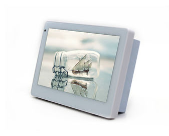 China 7 Inch Android Touch Panel With 24V Power Supply, Ethernet and POE Power factory