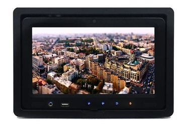 9 Inch Android Touch Screen With Bus Vehicle Back Seat Installation For Information System For Toursit Fleet