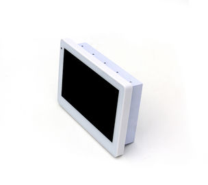 "China SIBO 7"" Wall Mounting Android Industrial Panel PC with LED light bar, POE RJ45 port, NFC reader factory"